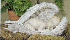 Our beautiful baby angels celebrates the serene and peaceful presence of these angelic creatures from heaven. Our range of sleeping angels are celebrated pieces we bring to our angel statues catalog.