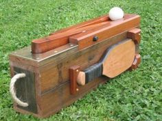Bat and Trap -traditional outdoor game, peterfountain.com.au