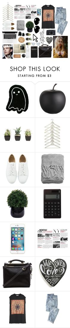 """""""#25"""" by luualmeida ❤ liked on Polyvore featuring CB2, H&M, Lux-Art Silks, Muji, Pointer, BCBGMAXAZRIA, Alexander McQueen, 3.1 Phillip Lim, Primitives By Kathy and Givenchy"""