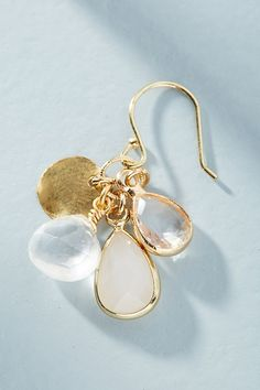 Slide View: 2: Clustered Drop Earrings