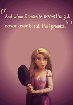 Promises are never to be broken. <3