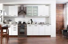Znalezione obrazy dla zapytania kuchnia mdf lakierowany ecru Kitchen Cabinets, Table, Furniture, House Inspirations, Home Decor, Decoration Home, Room Decor, Cabinets, Tables