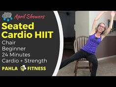High Intensity SEATED CARDIO+ Bodyweight STRENGTH | Full Length Home Workout for Beginners - YouTube