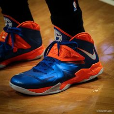 wearing brons nba soldier7 amare knicks 03 Wearing Brons: Amare Stoudemire  in SOLDIER 7 Knicks