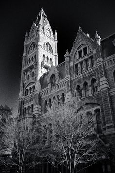 Old City Hall Clock Tower of Richmond VA by mbell1975, via Flickr