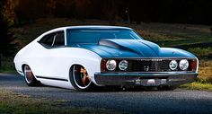 Customized Aussie 1978 Ford XC Falcon Coupe LHD for Sale in California - Carscoops