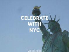 #CelebrateWith Michael Kors this holiday season.  12/22/12!