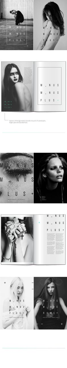Catalog / Minus Minus Plus on Behance