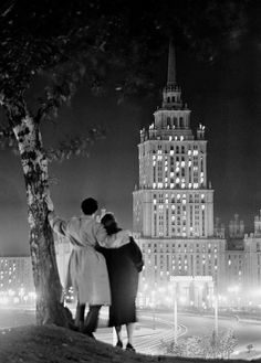 Opening of the Ukraine Hotel in Moscow 1957.