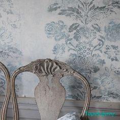 Tapeta Designers Guild Caprifoglio PDG674 2 Damasco - Wzory roślinne - Szukaj tapety po wzorze