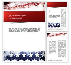 Painted American Flag Word Template http://www.word.poweredtemplate.com/word-templates/america/11089/0/index.html