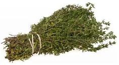 Thyme is one of the richest sources of potassium, iron, calcium, manganese, magnesium, and selenium.   It pairs well with a lemon tea and can help soothe a sore throat and ease a cough.