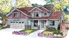 Cape Cod Country Craftsman House Plan 69638 Elevation