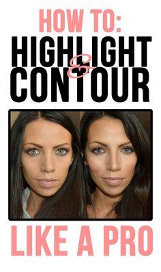 Highlight and Contour  http://www.maskcara.com/maskcara/2012/11/10/hac-yourself-flawless/