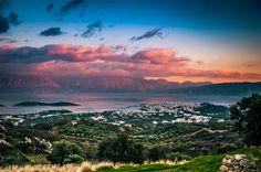 Agios Nikolaos - Crete - Greece    Panorama