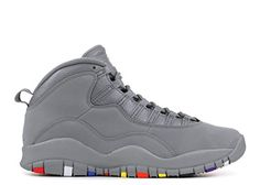 NIKE  AirJordan10 Retro Men s Shoes Cool Grey Cool Grey White 310805-022 ff34b3704