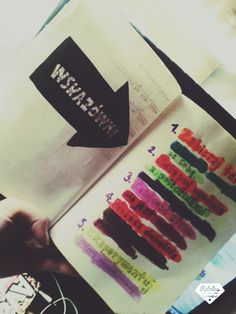 Podesłala Daria Szewczyk #zniszcztendziennik #kerismith #wreckthisjournal #book #ksiazka #KreatywnaDestrukcja #DIY