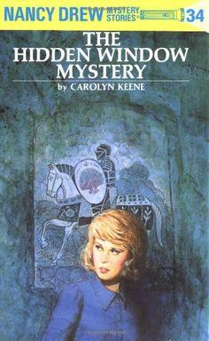 Nancy Drew 34: the Hidden Window Mystery by Carolyn Keene http://www.amazon.com/dp/0448095343/ref=cm_sw_r_pi_dp_2wwsvb1YRP1EY