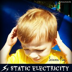 This Easy Static Electricity Experiment for kids is ideal ... |Static Electricity Science Project For Abstract