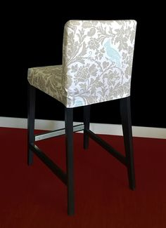 ikea henriksdal bar stool chair cover barber by