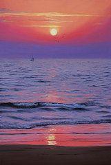 Featured Art - Ocean  by Vrindavan Das