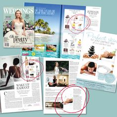 The latest New Zealand Weddings mag has landed on our desk today and we had to share. This beautiful issue is full of spring ideas, features us, our fav Decléor Aurabsolu range, the 2017 Bride and Couple of the Year comp. A must-read for all our bride-to-be's! Puns, Range, Desk, Couple, Weddings, Bride, Spring, Beautiful, Tights