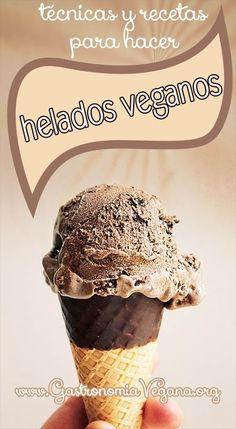 Hacer helados 100% vegetales, sin lácteos, es muy fácil. Aprende lo básico en este artículo en el que explicamos desde cómo hacer polos de hielo hasta helados cremosos! http://www.gastronomiavegana.org/recetas/helados-veganos-tecnicas-y-recetas/ #vegan #recetas #helados