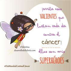 ¡arriba esos VALIENTES que luchan cada día contra el cáncer! ellos son mis superhéroes #Talentina #DiaMundialcontraelCáncer Lung Cancer, Breast Cancer, Inspirational Prayers, Pink Power, Lunges, Life Quotes, Sayings, Valentino, Inspirational Quotes