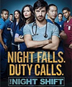 THE NIGHT SHIFT WILL RETURN THE 1st of June! Anders this season willen have 23 episodes! Anders I just realised something, Jeananne Goossens character Krista is not in the season 3 poster...