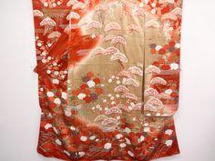 Furisode Kimono SILK $234