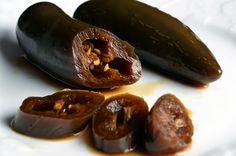 Kochu jangatchi (Korean pickled peppers)