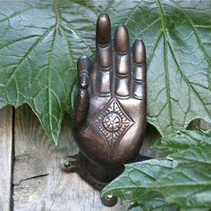 Buddha Hand Bronze $45