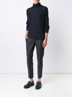 Brunello Cucinelli straight cropped trousers