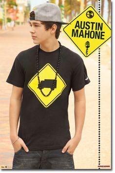 Austin Mahone - Beach Poster