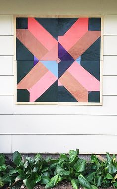 Turn a few boards into a beautiful barn quilt. This will add a big impart to your home and for under $30. Follow these instructions for a wonderful gift for the lady in your life this Mother's Day. #Mothersday #homedecor #Barnquilt Easy Gifts, Unique Gifts, Barn Quilt Patterns, Paint Drying, Barn Quilts, Photo Displays, Exterior Paint, Diy Tutorial, Light Colors