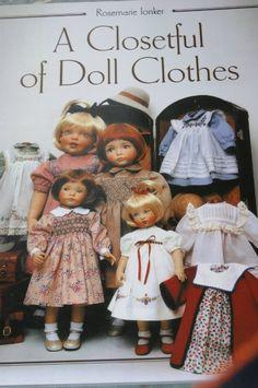 Libro de Rosemary Ionker (Rosemarie Ionker) - vestidos para muñecas con clases en sus manos / Master, taller creativo: Lecciones patrones de circuitos muñecas, con sus manos / Beybiki. Fotos Dolls. Ropa para muñecas