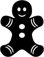KLDezign les SVG: décembre 2012 gingerbread man svg cut file