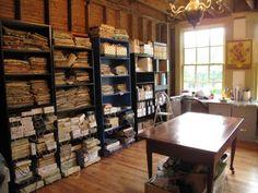 Nice sewing studio
