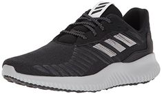 newest ce9da 2444e adidas Performance Men s Alphabounce Rc m Running Shoe Core Black Metallic  Silver Grey Five