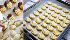 Czech Desserts, Köstliche Desserts, Great Desserts, Delicious Desserts, Yummy Food, Slovak Recipes, Czech Recipes, Cookie Time, Pan Dulce