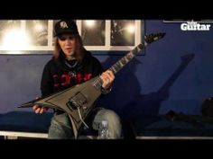 ▶ Me And My Guitar: Alexi Laiho's (Children Of Bodom) ESP Alexi Blacky - YouTube