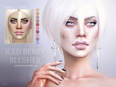 Pralinesims' Iced Berry Blusher N26