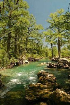 Las Sabinas river, Muzquiz, Coahuila, México