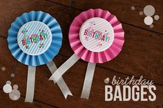 Today we have 15 free birthday printables for you! Have a birthday celebration coming up? Celebrate with one of these 15 free birthday printables! From cupcake toppers, to invitations and decor you'll be covered! Diy Birthday Badge, Birthday Pins, Today Is My Birthday, It's Your Birthday, Birthday Cards, Birthday Parties, Free Birthday, Birthday Ideas, School Birthday