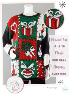f61eaf4e0fb 26 Best Vintage Christmas Sweaters images