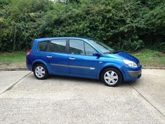 renault scenic 2004 blue - Google Search