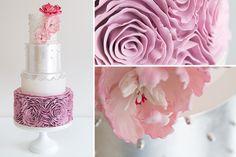 Cake Teacher - Rosette Ruffle Cake