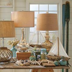 Traditional Decorative Objects, Traditional Table Lamps, Sailboat Decor, Whale Decor, Deep Sea Fishing, Decor Pillows, Bedroom Lamps, Coastal Decor, Coastal Homes