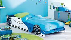 "Autobett ""Überholspur"" #car bed"