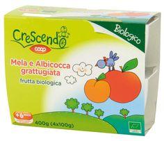 Mela e Albicocca grattugiata 4X100G
